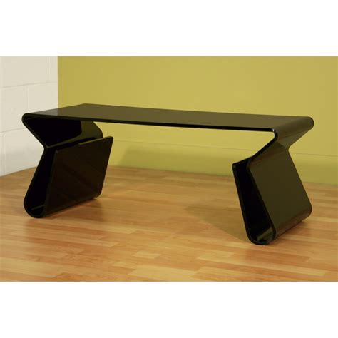Acrylic Coffee Table With Magazine Rack by Acrylic Black Coffee Table With Magazine Rack See White
