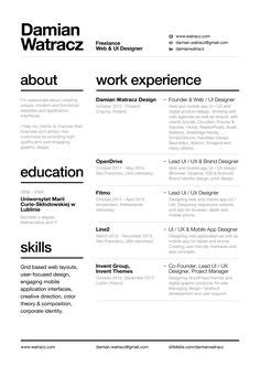 Resume White Space by Resume White Space Resume Ideas