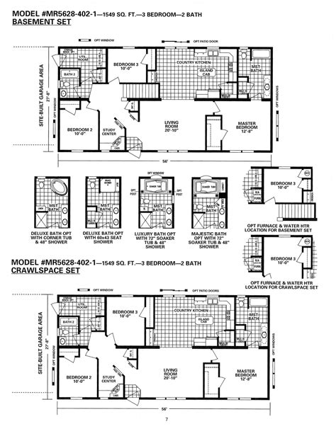 schult floor plans schult timberland 5628 402 1 excelsior homes west inc