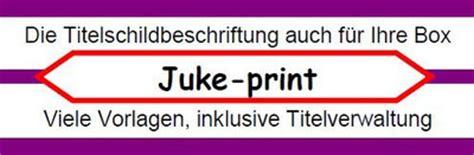 Beschriftung Jukebox by Drucken Sie Doch Ihre Schilder Wie Sie Wollen Nat 252 Rlich
