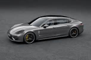 Porsche Panamera Executive 2017 Porsche Panamera Gains Wheelbase Executive