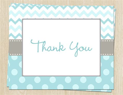 baby thank you card template photoshop 20 baby shower thank you cards free printable psd eps