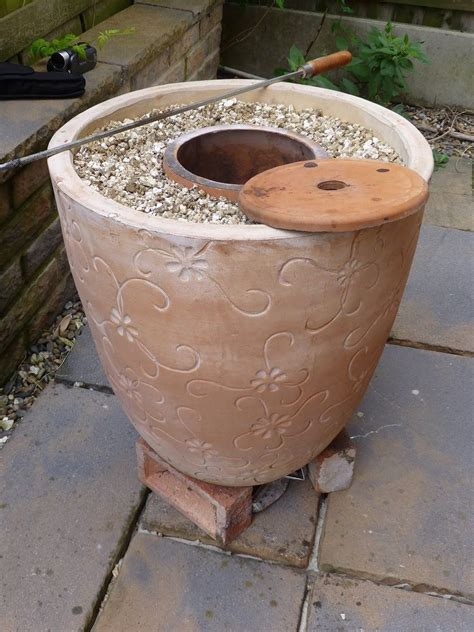 backyard tandoor oven mark two tandoor after my original flower pot tandoor http