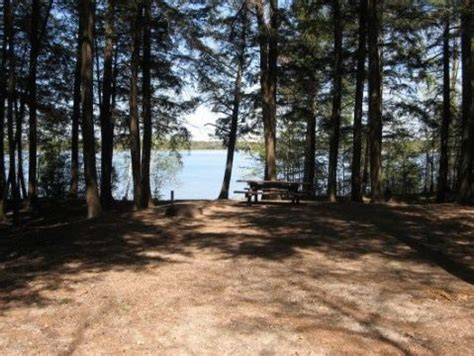 franklin lake cground is located within the nicolet forest of northern wisconsin franklin