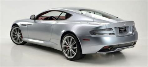 Aston Martin Db9 Msrp by Buy New 2013 Aston Martin Db9 Skyfall Silver 209645 Msrp