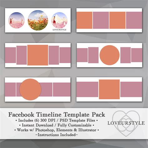timeline collage template timeline template template pack timeline cover