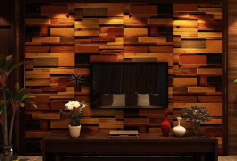 tv background wall design wood mosaic tiles interior wall tiles tv background mosaic chevron wooden crafts design on