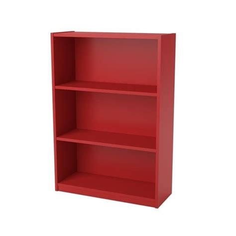 Altra Home Decor by 3 Shelf Bookcase In Ruby Red 9424317pcom