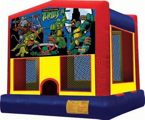 ninja turtle house ninja turtles bounce house rentals fort walton beach florida inflatable water slide
