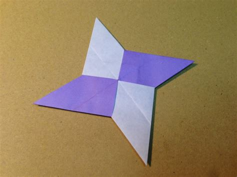 Single Paper Origami - free coloring pages origami shuriken with