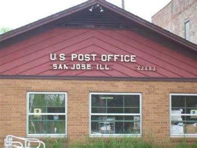 san jose illinois 62682 u s post offices on