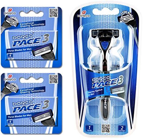 Dorco Pace 3 Three Razor Blade System Alat Cukur 3 Pisau new dorco pace 3 three razor blade system value