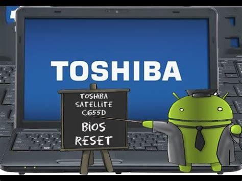 toshiba satellite c655d serisi bios reset işlem videosu