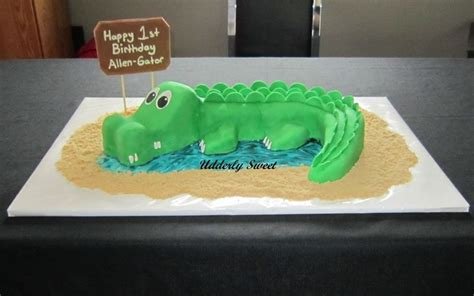 Crocodile Birthday Cake Template crocodile cake template beautiful cakes