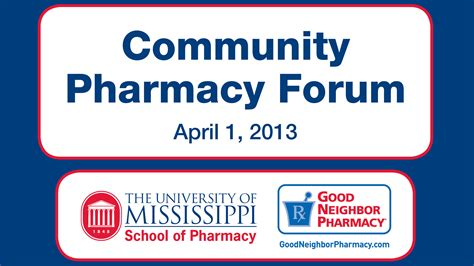 Pharmacy Forum by Of Mississippi Center Archives Page 6