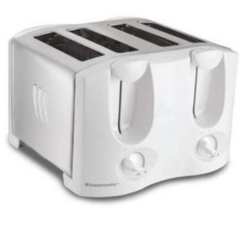 Best Long Slice Toaster Toastmaster 4 Slice Toaster T2040wt Reviews Viewpoints Com