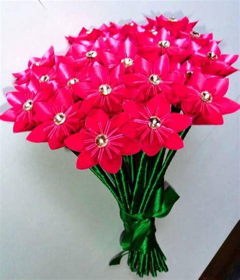 Flores Origami - gt larissa ferreira fahed de barros gt buque flores de