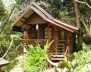 Cool Small Cabins Tropical Tiny Cabin Logs Or Bamboo Tiny House Pins