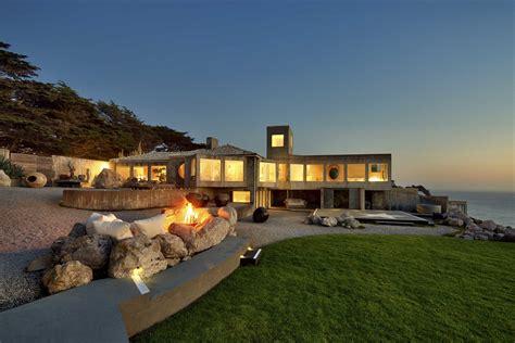 oceanfront sanctuary   california coast modern