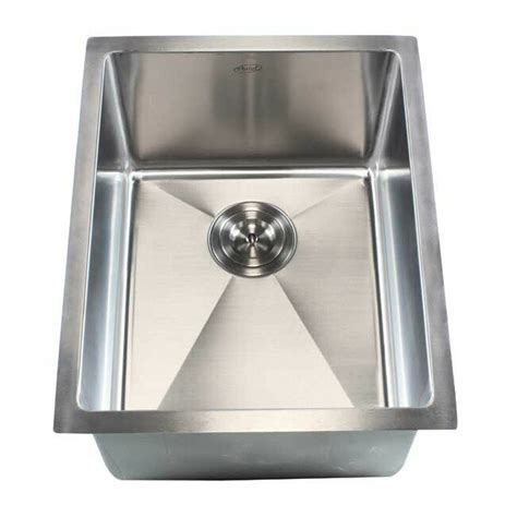 emodern decor ariel    single bowl undermount