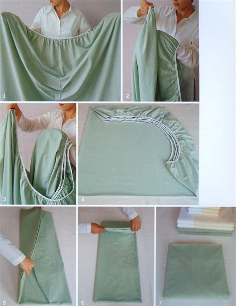 how to fold a fitted sheet the modern hoot