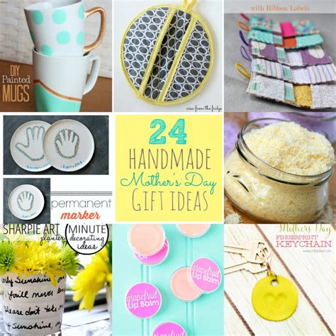 Handmade Mothers Day Ideas - great ideas 24 s day handmade gift ideas