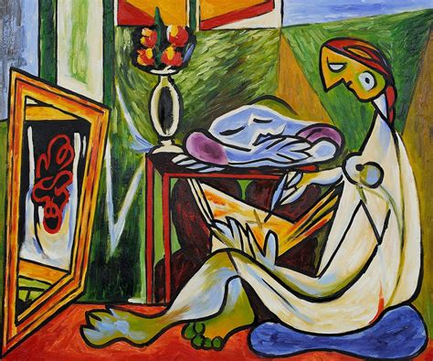 picasso paintings description pablo picasso la muse repro painting 20 24 cubist