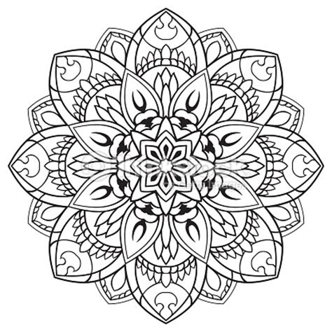 cupid s view coloring book for everyone books vector floral mandala vector thinkstock