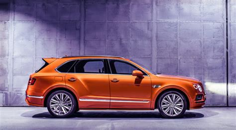 2020 bentley suv the new bentley bentayga speed is the world s fastest