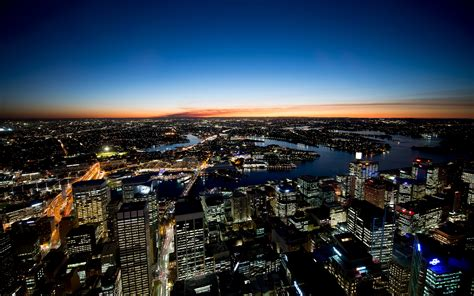 sydney night lights wallpapers hd wallpapers