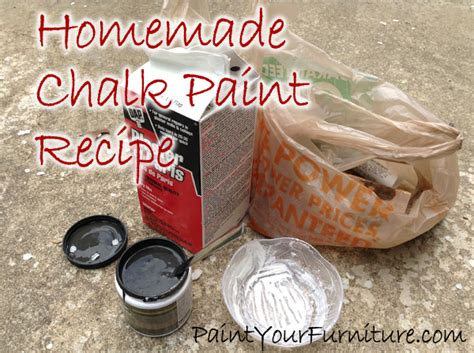 diy chalk paint recipe for upholstery chalk paint recipe plaster of