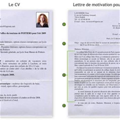 Exemple De Cv En Franàçais by Lettre De Motivation En Fran 195 167 Ais