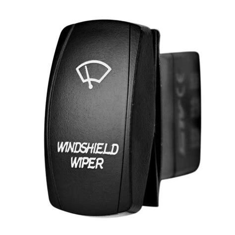 windshield wiper laser rocker switch stv motorsports
