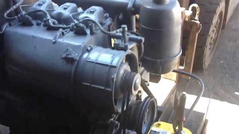deutz mwm air cooled  cylinder diesel youtube