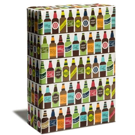 Gift Wrapping Paper Sheets - everyday paper wrapping paper beer wrap snow amp graham letterpress stationery invitations