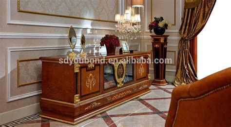 Wooden Cabinet Designs For Living Room by 0038 Luxury Antique Tv Lcd Wooden Cabinet Designs For