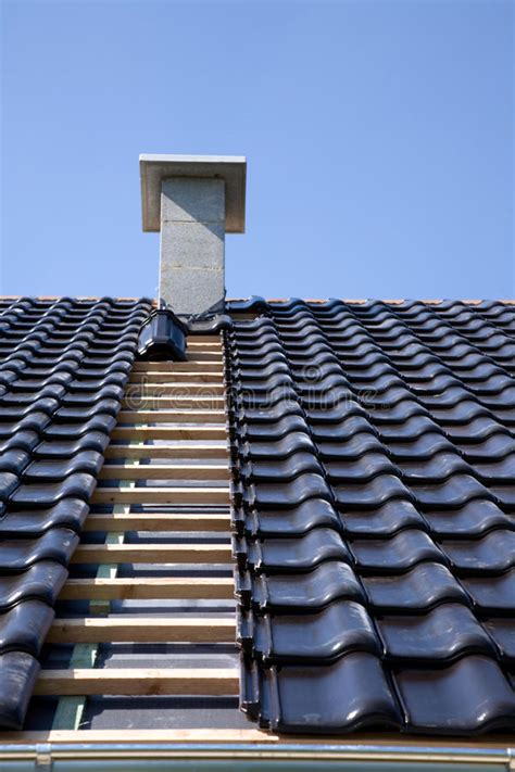 black roofing tiles stock photo image  tile home