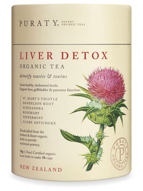 Detox Cleanse Nz by Tea For Liver Detox Support Flush Cleansing New