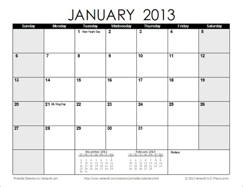 printable quarterly calendar 2013 4 best images of printable 2013 monthly calendar template