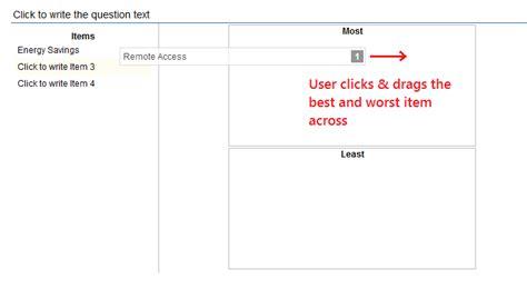 Mba Student Survey Usa Qualtrics by Best Worst Survey In Qualtrics Www Mbanights