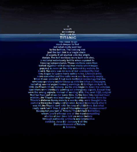 when did the titanic sink titanic facts statistics ultimate titanic
