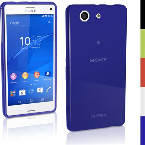 Xperia C Glossy Soft glossy tpu gel for sony xperia z3 compact d5803 d5834