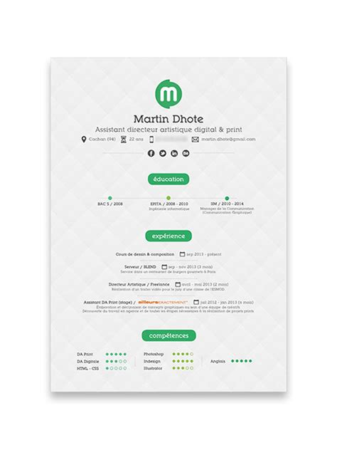 graphic design cv online 10 cool resumes made by professional graphic designers