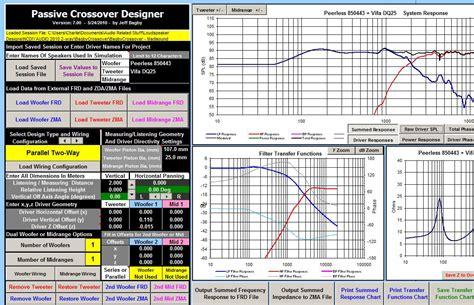 audio video layout software diy speaker design software diy do it your self