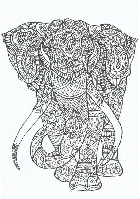 coloring pages for adults stress coloring coloring for adults and elephants on pinterest