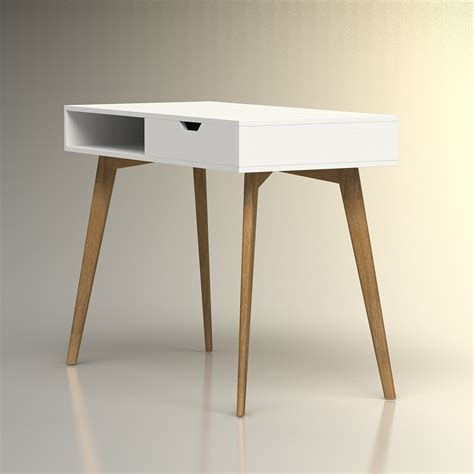scandinavian desk 3d scandinavian desk high quality 3d models