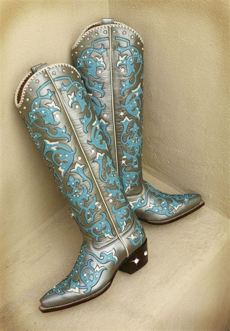 Handmade Boots Houston - custom bling rocketbuster buckaroo boots