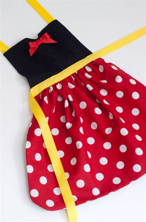 Minnie Mouse Apron Size 4 6 Yo 31 best disney aprons images on disney aprons disney cruise plan and disney