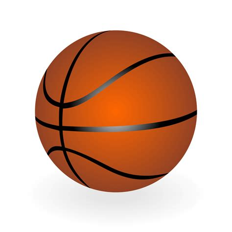 basketball clipart vector vector for free use basketball vector