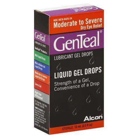 genteal eye drops lubricant moderate  severe dry eye